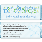 Baby Shower Candy Bar Wrapper BS204B