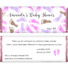 Baby Shower Baby Feet Candy Wrapper BS211G