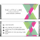 Colorful Triangle Design Business Candy Wrapper