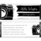 Photographer Camera Business Candy Wrapper