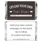 Custom Miniature Size Wrapper with editable text on back
