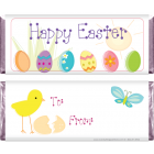 Easter Eggs Candy Bar Wrapper EASTER201