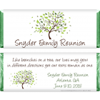 Family Tree Reunion Candy Bar Wrapper FAM201