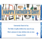 Fathers Day Tools Candy Wrapper FD217