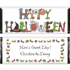 Happy Halloween Graphics Candy Wrapper HAL204