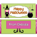 Witch Girl Halloween Candy Wrapper HAL213