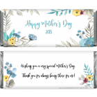 Mother's Day Watercolor Spring Floral Candy Wrappers MD2