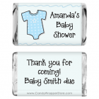 Miniature Baby Shower Onesies Candy Wrapper MINIBS230b