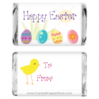Miniature Easter Eggs Candy Wrapper MINIEASTER201