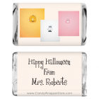 Miniature Halloween Candy Bar Wrappers MINIHAL201