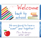Colored Pencils Back to School Candy Bar Wrapper SCHOOL202