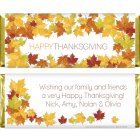 Thanksgiving Fall Leaves Candy Wrappers THANKS201