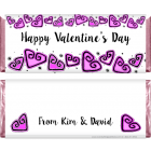 Valentines Day Hearts Candy Wrapper VAL201