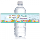 Oh Baby the Places Youll Go Baby Shower Water Bottle Label WBBS269
