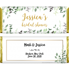Wild Greenery Bridal Shower Candy Bar Wrappers WS390