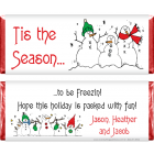 Snowmen Christmas Candy Wrappers XMAS201