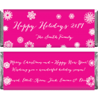 Happy Holidays Silver Snowflakes Candy Wrappers XMAS206