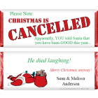 Christmas Is Cancelled Wrapper XMAS214