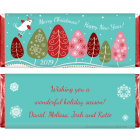 Little Birdie Christmas Candy Wrapper XMAS217