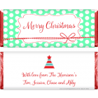 Tied up with String Christmas Candy Bar Wrappers XMAS236