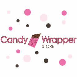 Princess Carriage Birth Announcement Candy Wrapper BAG243